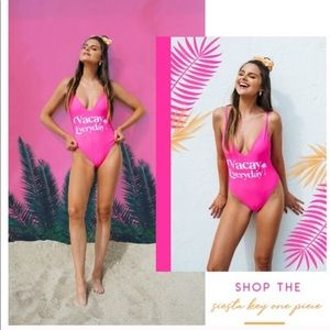 Show Me Your MUMU Vacay Everyday Swimsuit S